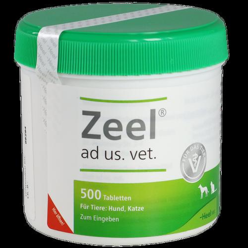 Verpackungsbild(Packshot) von ZEEL ad us.vet.Tabletten