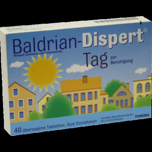 Verpackungsbild(Packshot) von BALDRIAN DISPERT Tag überzogene Tabletten