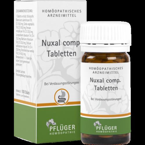 Verpackungsbild(Packshot) von NUXAL comp.Tabletten