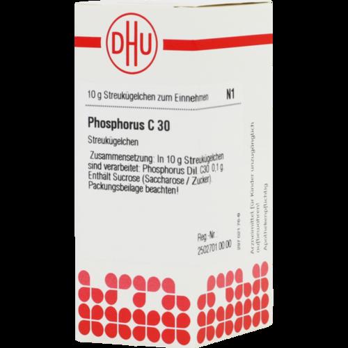 Verpackungsbild(Packshot) von PHOSPHORUS C 30 Globuli