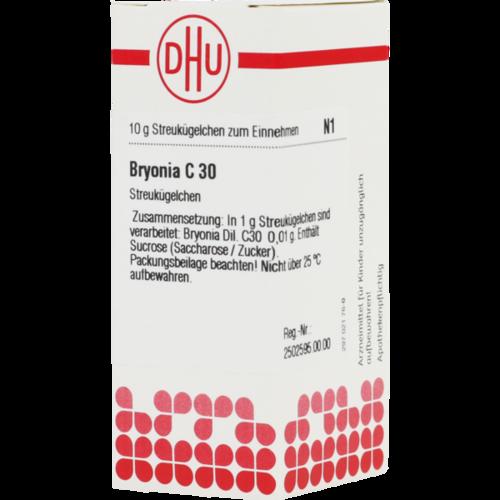 Verpackungsbild(Packshot) von BRYONIA C 30 Globuli