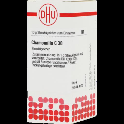 Verpackungsbild(Packshot) von CHAMOMILLA C 30 Globuli