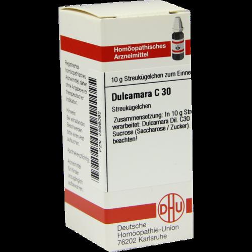 Verpackungsbild(Packshot) von DULCAMARA C 30 Globuli