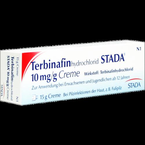 Verpackungsbild(Packshot) von TERBINAFINHYDROCHLORID STADA 10 mg/g Creme