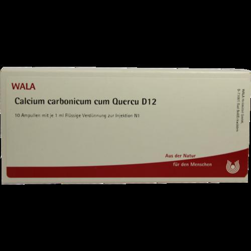 Verpackungsbild(Packshot) von CALCIUM CARBONICUM CUM quercus D 12 Ampullen