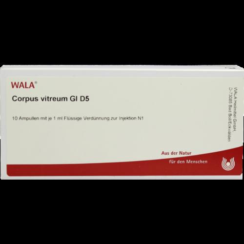 Verpackungsbild(Packshot) von CORPUS VITREUM GL D 5 Ampullen