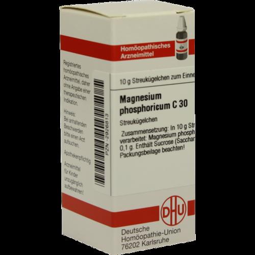 Verpackungsbild(Packshot) von MAGNESIUM PHOSPHORICUM C 30 Globuli