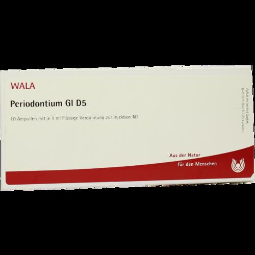 Verpackungsbild(Packshot) von PERIODONTIUM GL D 5 Ampullen