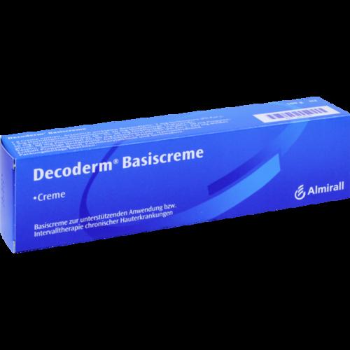 Verpackungsbild(Packshot) von DECODERM Basiscreme