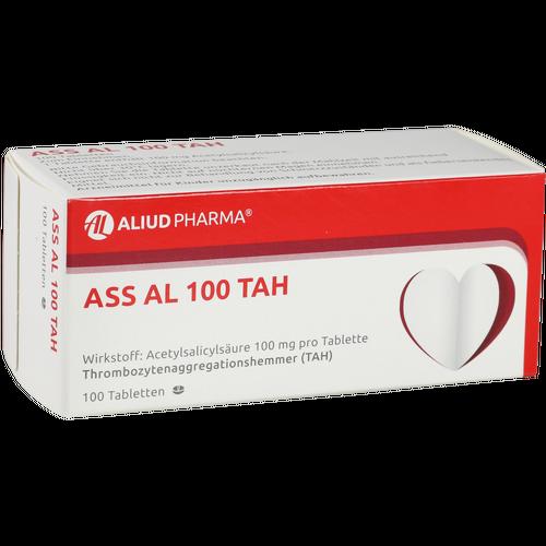 Verpackungsbild(Packshot) von ASS AL 100 TAH Tabletten