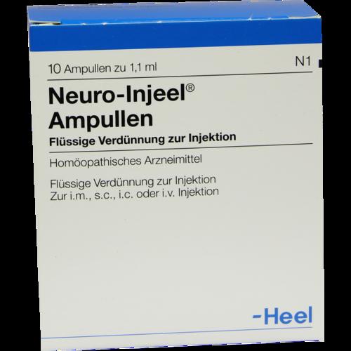 Verpackungsbild(Packshot) von NEURO INJEEL Ampullen