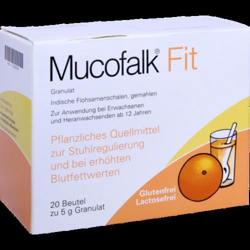 Verpackungsbild(Packshot) von MUCOFALK Fit Gran.z.Herst.e.Susp.z.Einn.Beutel