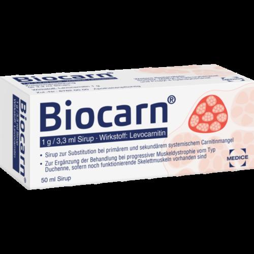 Verpackungsbild(Packshot) von BIOCARN Sirup
