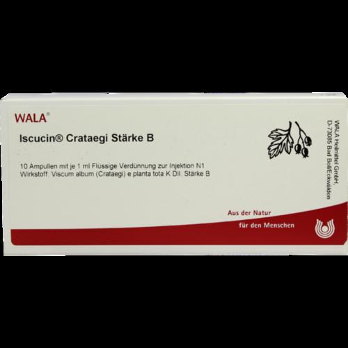 Verpackungsbild(Packshot) von ISCUCIN crataegi Stärke B Ampullen