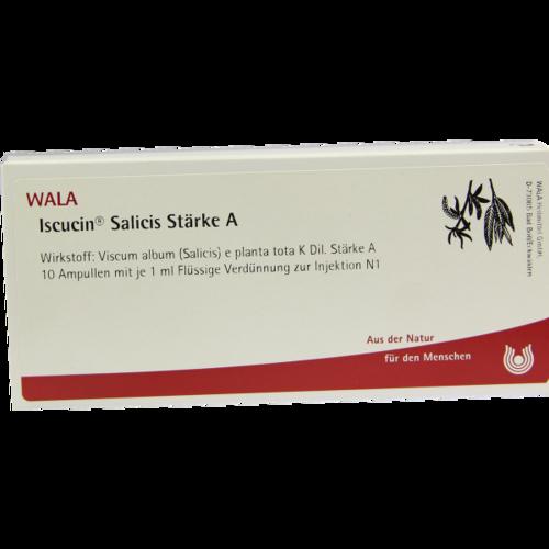 Verpackungsbild(Packshot) von ISCUCIN salicis Stärke A Ampullen