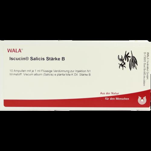 Verpackungsbild(Packshot) von ISCUCIN salicis Stärke B Ampullen