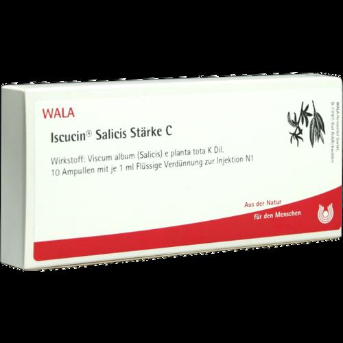 Verpackungsbild(Packshot) von ISCUCIN salicis Stärke C Ampullen