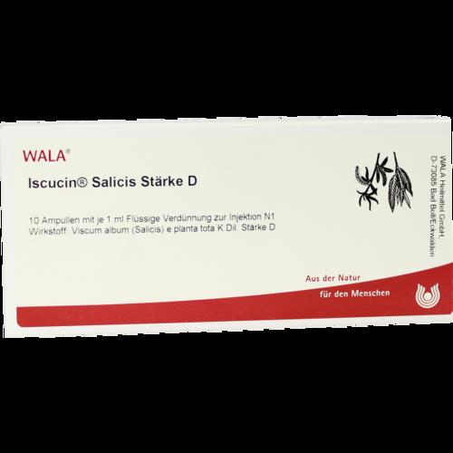 Verpackungsbild(Packshot) von ISCUCIN salicis Stärke D Ampullen