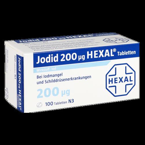 Verpackungsbild(Packshot) von JODID 200 HEXAL Tabletten