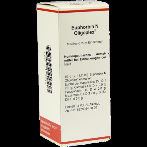 Verpackungsbild(Packshot) von EUPHORBIA N Oligoplex Liquidum