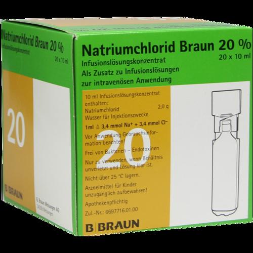 Verpackungsbild(Packshot) von NATRIUMCHLORID 20% MPC Elektrolytkonzentrat