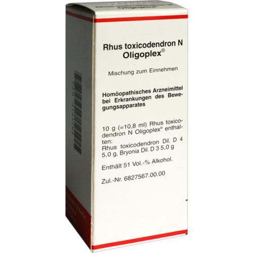 Verpackungsbild(Packshot) von RHUS TOXICODENDRON N Oligoplex Liquidum