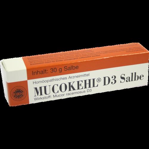 Verpackungsbild(Packshot) von MUCOKEHL Salbe D 3