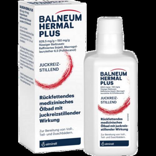 Verpackungsbild(Packshot) von BALNEUM Hermal plus flüssiger Badezusatz