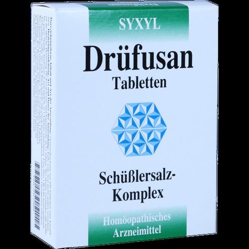 Verpackungsbild(Packshot) von DRÜFUSAN Tabletten Syxyl