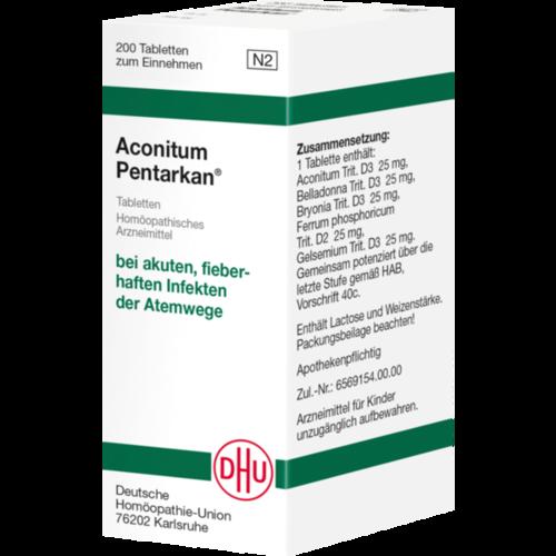 Verpackungsbild(Packshot) von ACONITUM PENTARKAN Tabletten