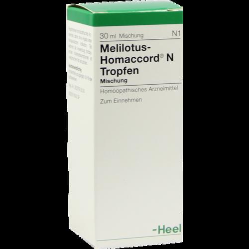 Verpackungsbild(Packshot) von MELILOTUS HOMACCORD N Tropfen
