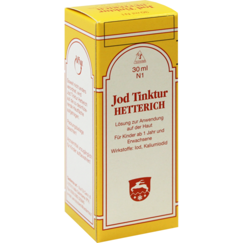 Verpackungsbild(Packshot) von JODTINKTUR Hetterich