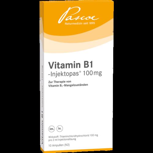 Verpackungsbild(Packshot) von VITAMIN B1 INJEKTOPAS 100 mg Injektionslösung