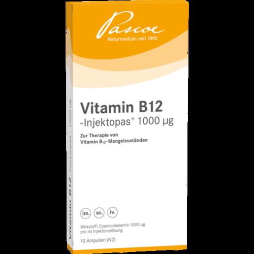 Verpackungsbild(Packshot) von VITAMIN B12 INJEKTOPAS 1.000 μg Injektionslsg.