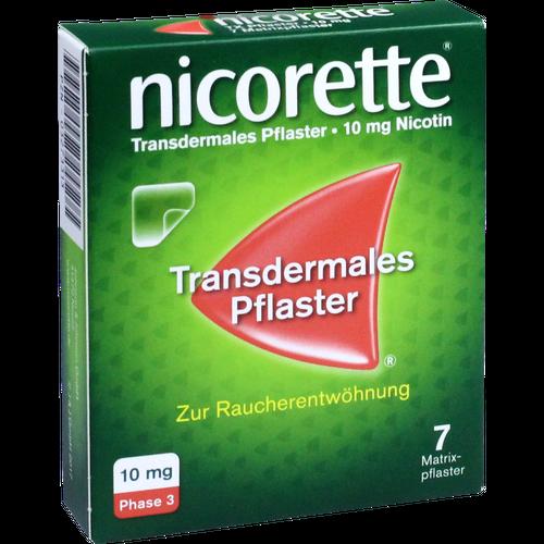 Verpackungsbild(Packshot) von NICORETTE TX Pflaster 10 mg