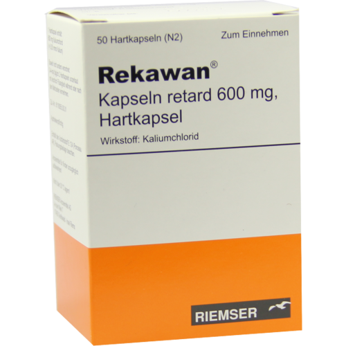Verpackungsbild(Packshot) von REKAWAN Kapseln retard 600 mg