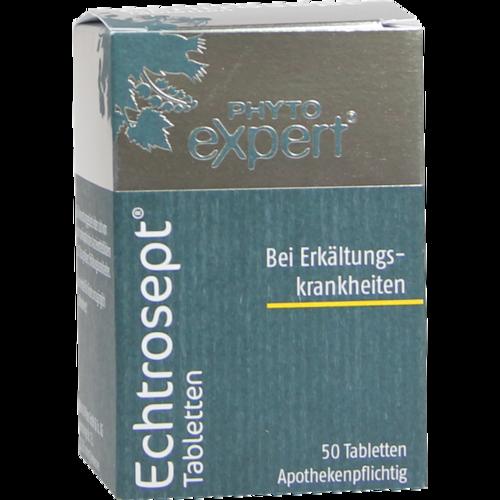 Verpackungsbild(Packshot) von ECHTROSEPT Tabletten