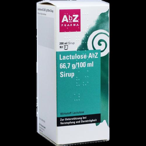Verpackungsbild(Packshot) von LACTULOSE AbZ 66,7 g/100 ml Sirup