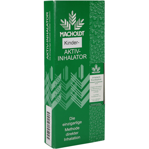Verpackungsbild(Packshot) von MACHOLDT Aktiv Kinder-Inhalator+1 Eukalyptusöl