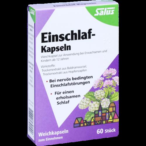 Verpackungsbild(Packshot) von EINSCHLAF KAPSELN Salus