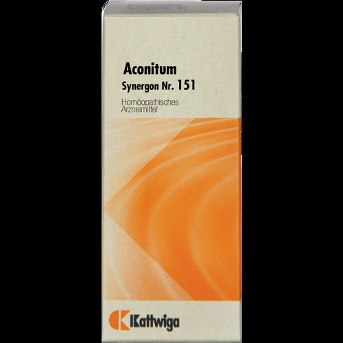 Verpackungsbild(Packshot) von SYNERGON KOMPLEX 151 Aconitum Tropfen