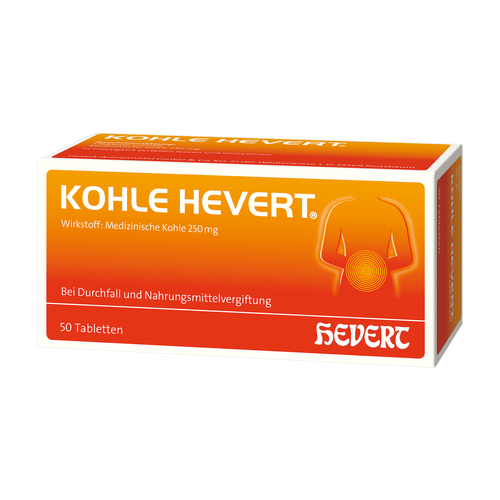 Verpackungsbild(Packshot) von KOHLE Hevert Tabletten
