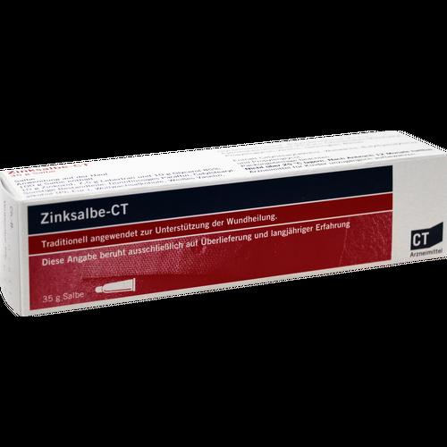 Verpackungsbild(Packshot) von ZINKSALBE-CT