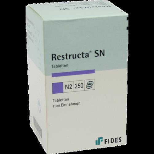 Verpackungsbild(Packshot) von RESTRUCTA SN Tabletten
