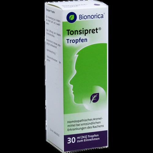 Verpackungsbild(Packshot) von TONSIPRET Tropfen