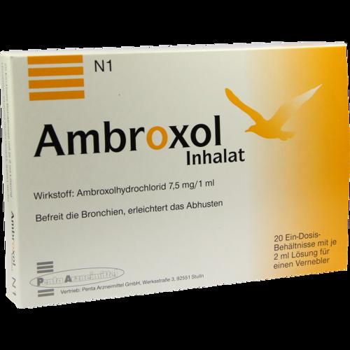 Verpackungsbild(Packshot) von AMBROXOL Inhalat Lösung für einen Vernebler