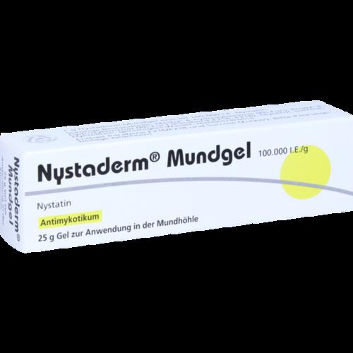 Verpackungsbild(Packshot) von NYSTADERM Mundgel