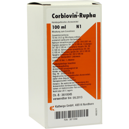 Verpackungsbild(Packshot) von CORBIOVIN Rupha Liquidum
