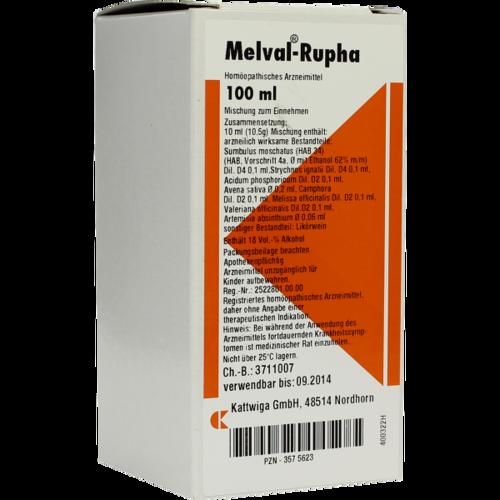 Verpackungsbild(Packshot) von MELVAL Rupha Liquidum