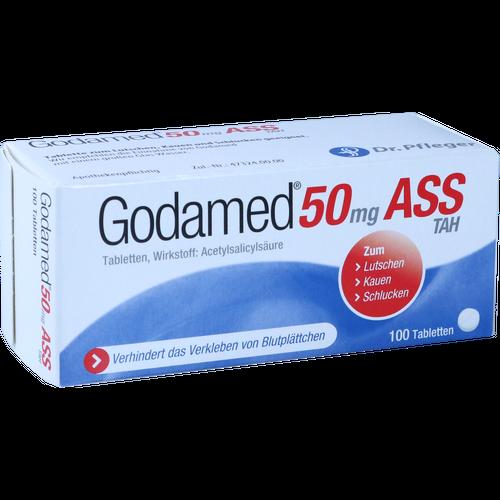 Verpackungsbild(Packshot) von GODAMED 50 mg TAH Tabletten